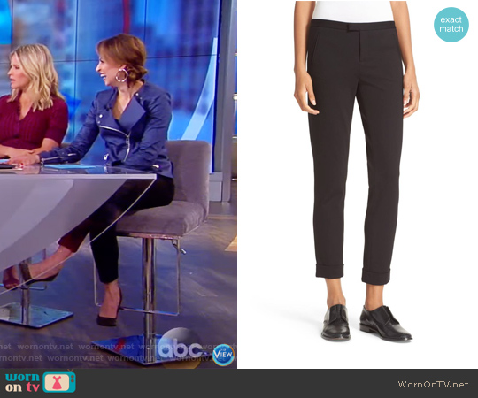 Slim Crop Pants by ATM Anthony Thomas Melillo worn by Jedediah Bila on The View