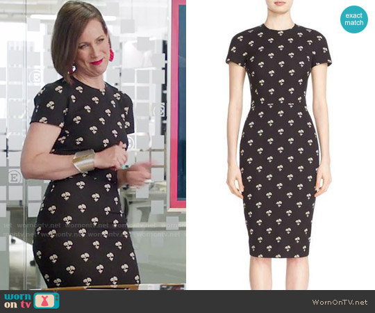 Victoria Beckham Daisy Jacquard Dress worn by Miriam Shor on Younger