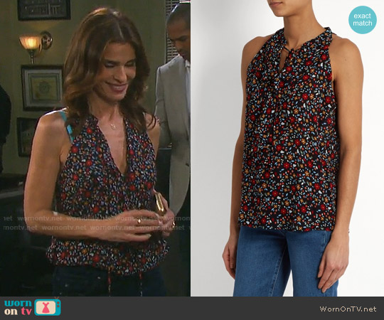 ALC Steele Top worn by Hope Williams (Kristian Alfonso) on Days of our Lives