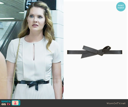Bcbgmaxazria Knotted Waist Belt worn by Sutton on The Bold Type
