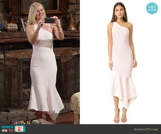 Cinq a Sept Dulcina Dress worn by Sharon Case on The Young & the Restless