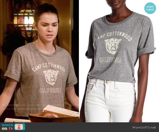 Current Elliott The Sailor Tee worn by Maia Mitchell on The Fosters