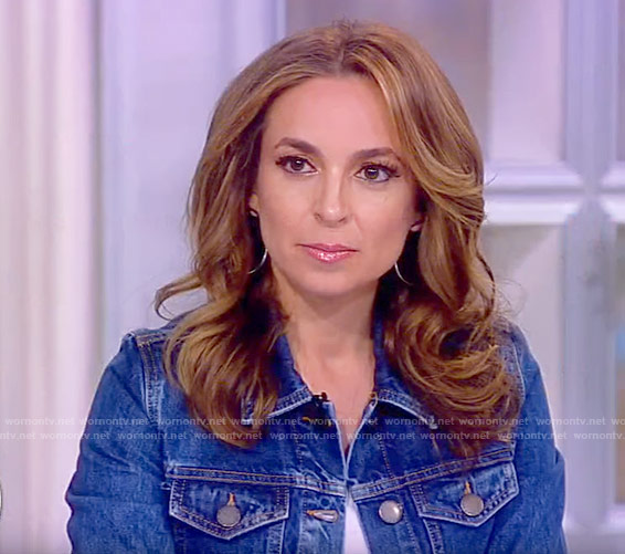 Jedediah's denim jacket on The View