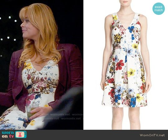 Erdem Fabienne Dress worn by Alison DiLaurentis (Sasha Pieterse) on PLL