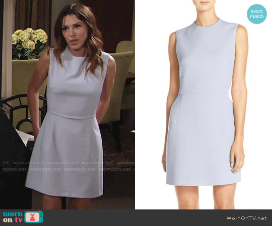 French Connection Sundae Dress worn by Elizabeth Hendrickson on The Young & the Restless