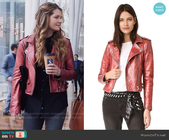IRO Axelle Jacket worn by Sutton (Meghann Fahy) on The Bold Type