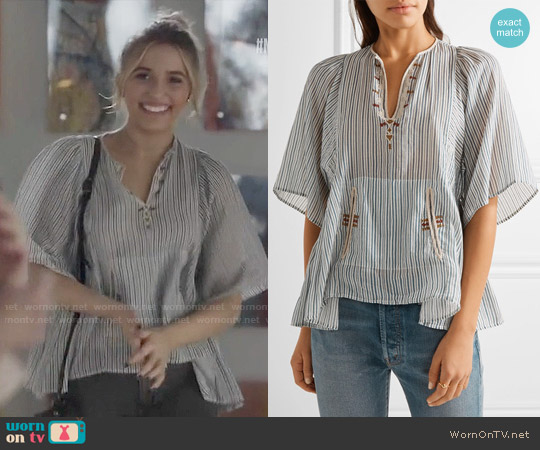 Etoile Isabel Marant Joy Top worn by Lennon Stella on Nashville