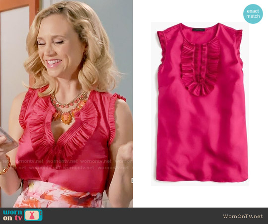 J. Crew Margot Top worn by Heather Flynn-Kellogg (Fiona Gubelmann) on Daytime Divas