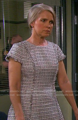 Jennifer's tweed dress on Days of our Lives