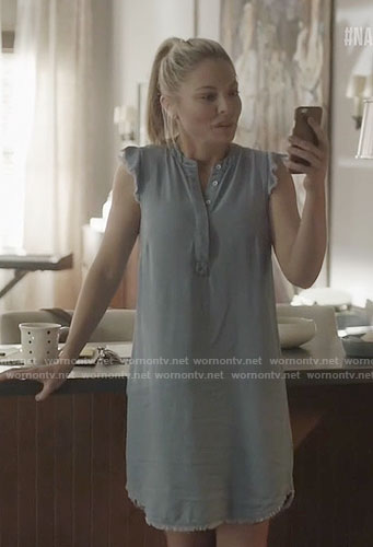 Jessie's chambray dress on Nashville