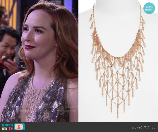 Kendra Scott Georgina Necklace worn by Mariah Copeland on The Young & the Restless