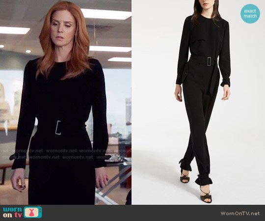 Max Mara Cady Jumpsuit worn by Sarah Rafferty on Suits