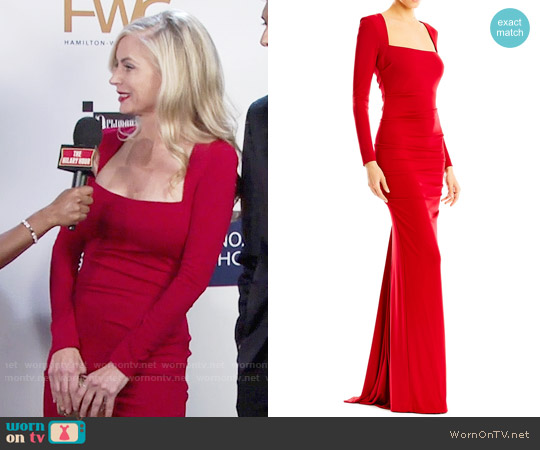 Nicole Miller Felicity Gown worn by Ashley Abbott (Eileen Davidson) on The Young & the Restless