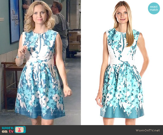Nine West Ctsp Pleat Waist Dress worn by Fiona Gubelmann on Daytime Divas