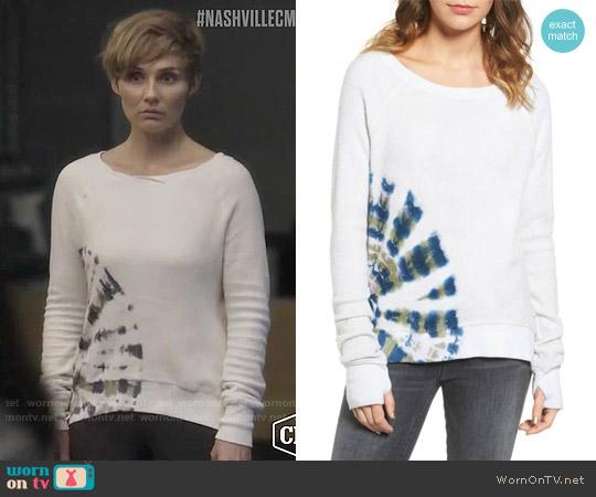 Pam & Gela Inside Out Sweatshirt worn by Scarlett O'Connor (Clare Bowen) on Nashville