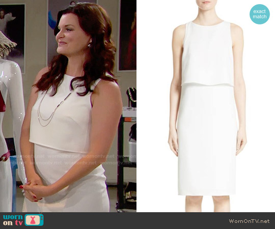 Rag & Bone Eliza Dress worn by Heather Tom on The Bold & the Beautiful