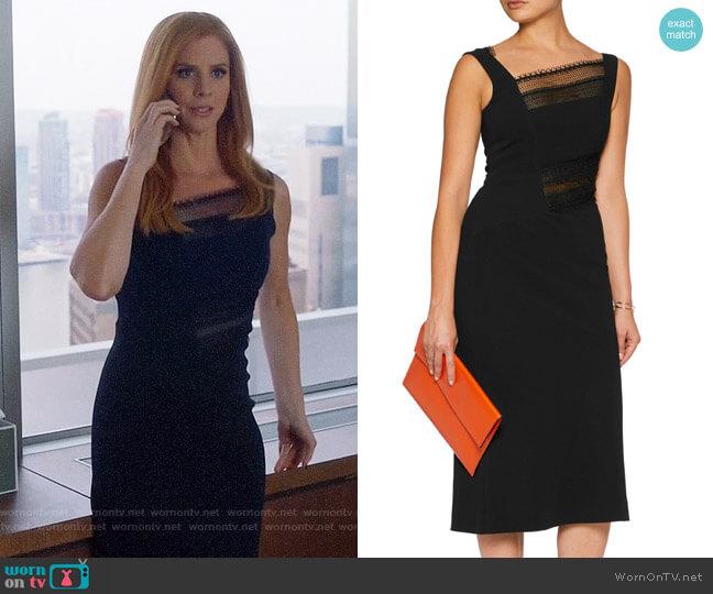 Roland Mouret Clairvale Dress worn by Donna Paulsen (Sarah Rafferty) on Suits