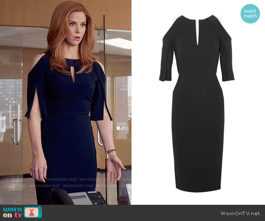Roland Mouret Keeling Dress worn by Sarah Rafferty on Suits