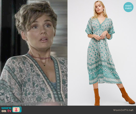 Spell Kombi Folk Dress worn by Clare Bowen on Nashville