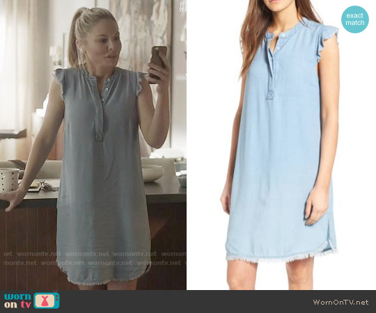 Splendid Chambray Shift Dress worn by Jessie Caine (Kaitlin Doubleday) on Nashville