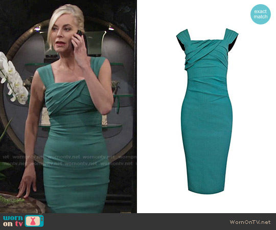 Stop Staring Jayla Dress worn by Eileen Davidson on The Young & the Restless