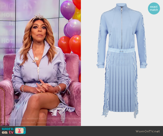 Lace Embellished Dress by Versace worn by Wendy Williams on The Wendy Williams Show