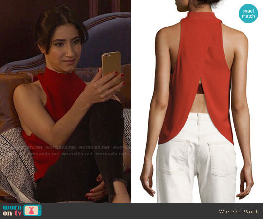 ALC Olympia Top worn by Nikohl Boosheri on The Bold Type