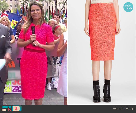 'Towner' Pencil Skirt by A.L.C. worn by Savannah Guthrie on Today