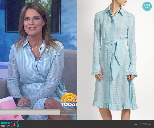 'Laguna' Dress by Altuzarra worn by Savannah Guthrie on Today