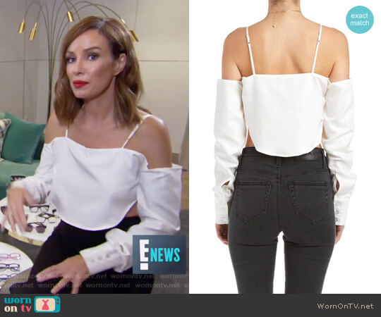 Ketuta Top by Are You Am I worn by Catt Sadler on E! News