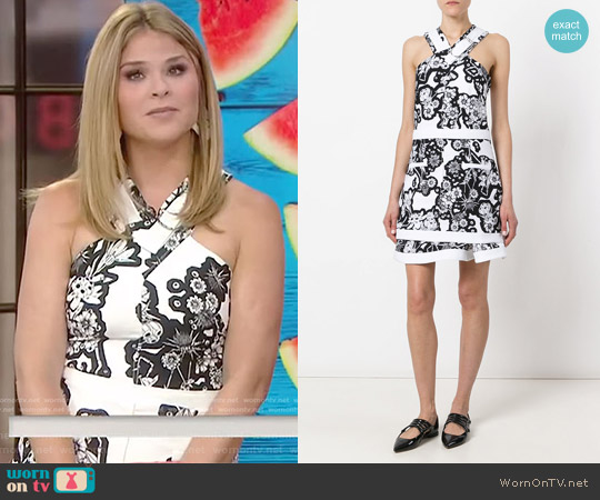 Halter Dress by Carven worn by Jenna Bush Hager on Today