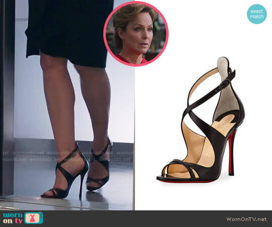 Christian Louboutin Malefissima Sandals worn by Melora Hardin on The Bold Type
