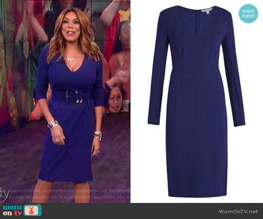 Milena Dress by Diane von Furstenberg worn by Wendy Williams (Wendy Williams) on The Wendy Williams Show
