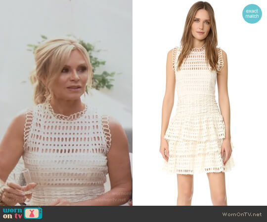 Meet Me at Midnight Mini Dress by Free People worn by Tamra Judge on The Real Housewives of Orange County