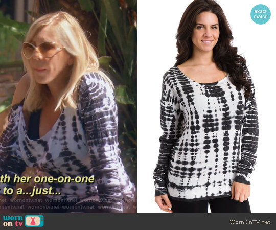 Slouch Back Sweatshirt by Hard Tail worn by Vicki Gunvalson on The Real Housewives of Orange County