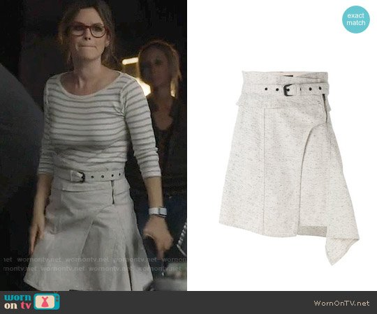 Isabel Marant Eydie Skirt worn by Rachel Bilson on Nashville
