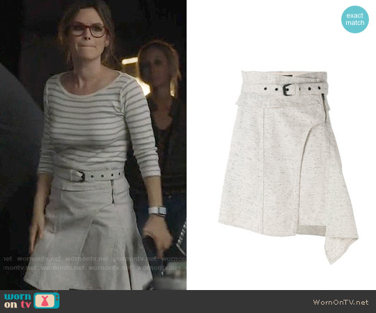 Isabel Marant Eydie Skirt worn by Alyssa Greene (Rachel Bilson) on Nashville