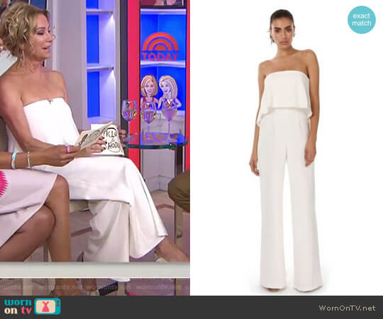 'Moore' Jumpsuit by Jay Godfrey worn by Kathie Lee Gifford on Today