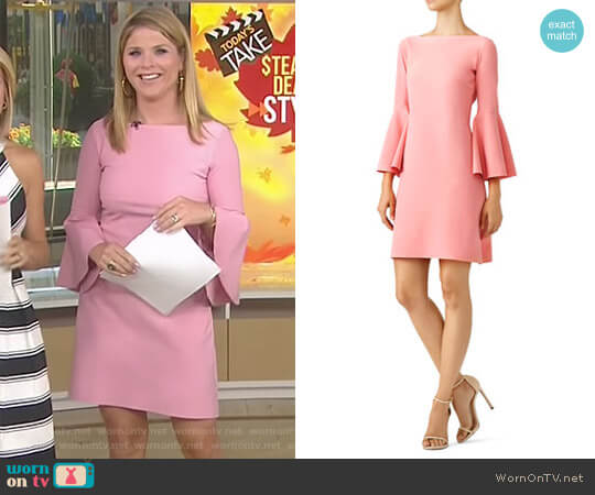 Pina Iva Dress by La Petite Robe di Chiara Boni worn by Jenna Bush Hager  on Today