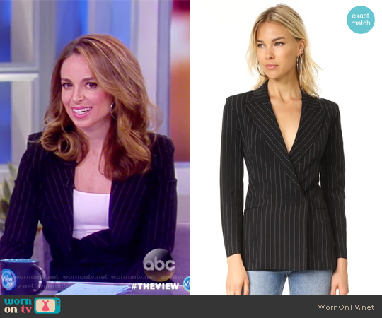 Double Breasted Blazer by Norma Kamali worn by Jedediah Bila on The View