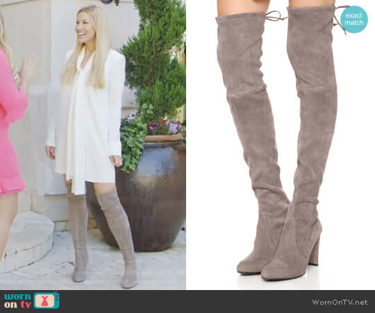 'Highland' Over the Knee Boot by Stuart Weitzman worn by Stephanie Hollman on The Real Housewives of Dallas