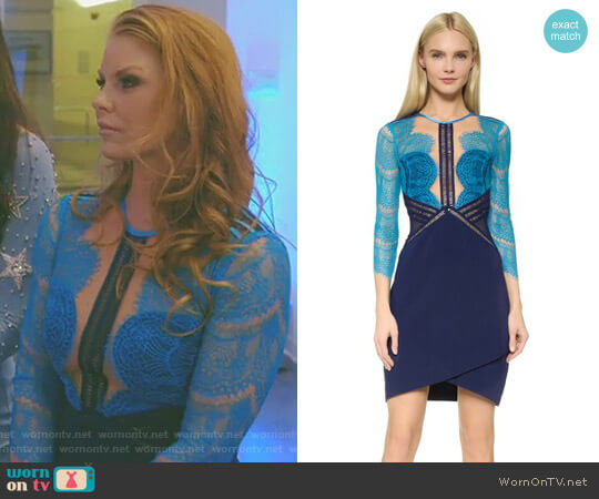 Topspin Dress by Three Floor worn by Brandi Redmond on The Real Housewives of Dallas