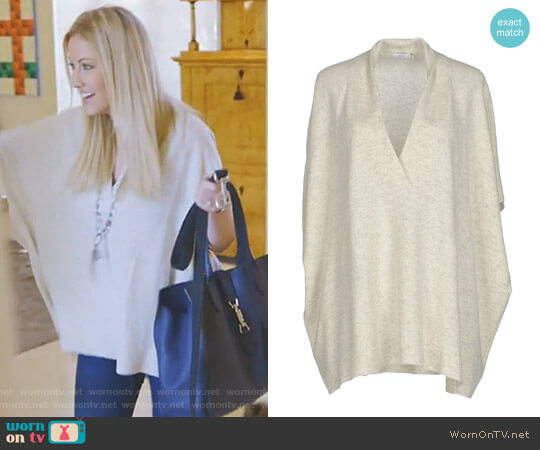 V-Neck Sweater by Vince worn by Stephanie Hollman on The Real Housewives of Dallas