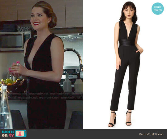 ALC Beni Jumpsuit worn by Meghann Fahy on The Bold Type