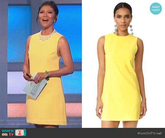 Coley Dress by Alice + Olivia worn by Julie Chen on Big Brother
