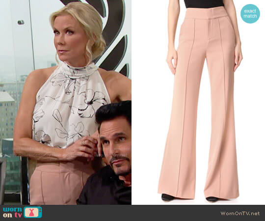 Alice + Olivia Dawn Pants worn by Katherine Kelly Lang on The Bold & the Beautiful