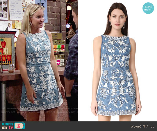 Alice + Olivia Lindsey Dress worn by Sharon Case on The Young & the Restless