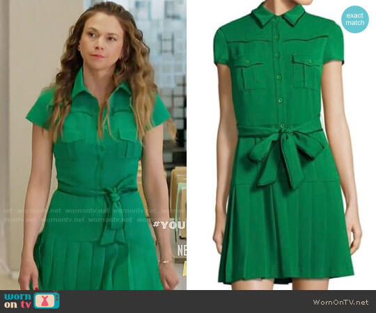 Alice + Olivia Yoko Dress worn by Sutton Foster on Younger