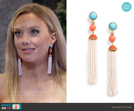 Baublebar Artemis Earrings worn by Abby Newman on The Young & the Restless