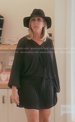 Vicki's long sleeve top dress on The Real Housewives of OC